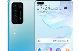 Video leaks reveal the screen of the upcoming Huawei P40 PRO