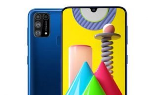 Galaxy M31 officially launched on February 25th with a capacity of 6000 mAh battery