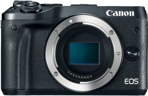 Canon EOS M6 camera review appropriate size