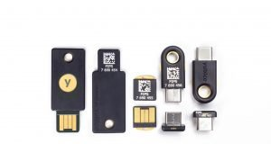 hardware security keys collection