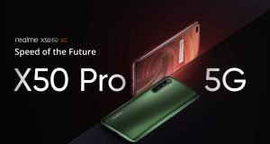 Realme X50 Pro Player in preparation for the official announcement on May 25