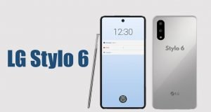 Upcoming LG Stylo 6 phone leaks on the screen