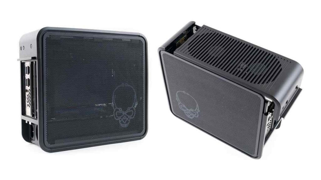 Intel NUC 9 Extreme Design from Different sides