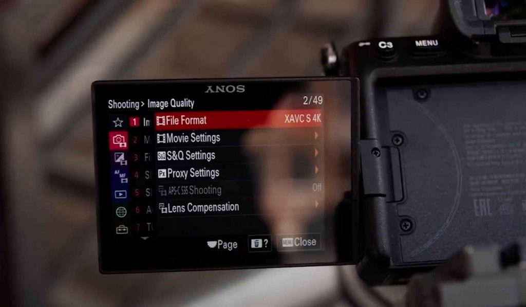 Sony A7S III Performance, Movie Setting and Video Options