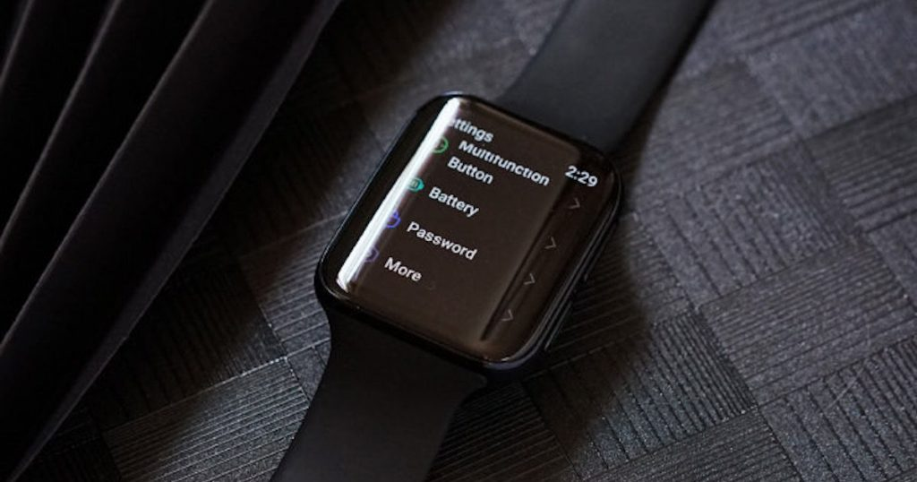 Oppo Watch Display Setting