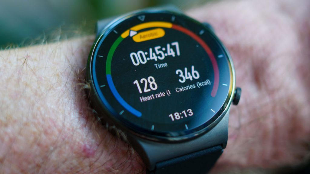 Huawei Watch GT 2 Pro Fitness Tracking
