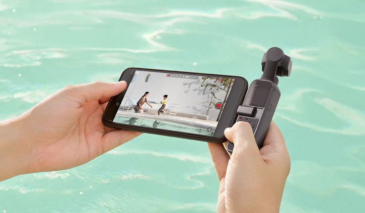 dji pocket 2 Connected with your phone