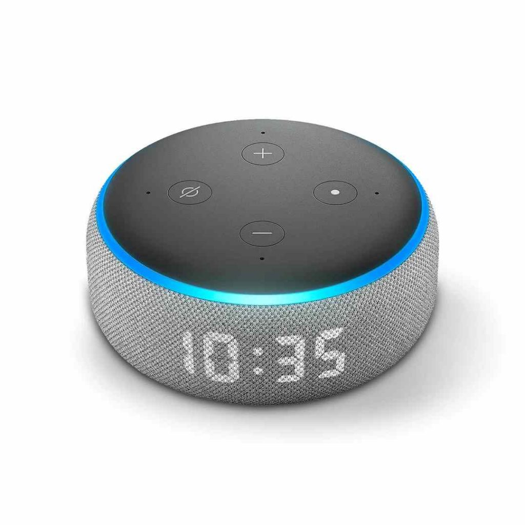 Amazon Echo Dot Design and buttons