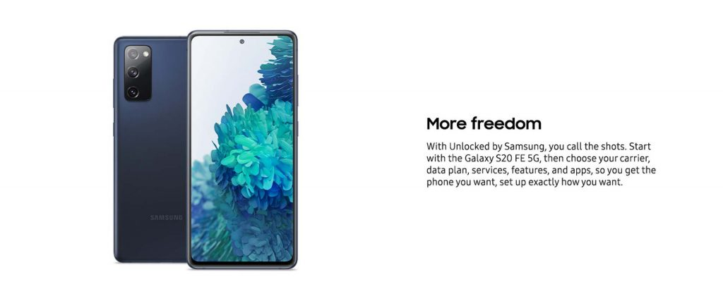 Galaxy S20 FE Features