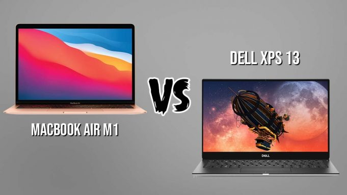 MacBook Air M1 vs Dell XPS 13 (2020)