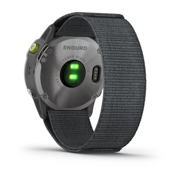 Garmin Enduro back design