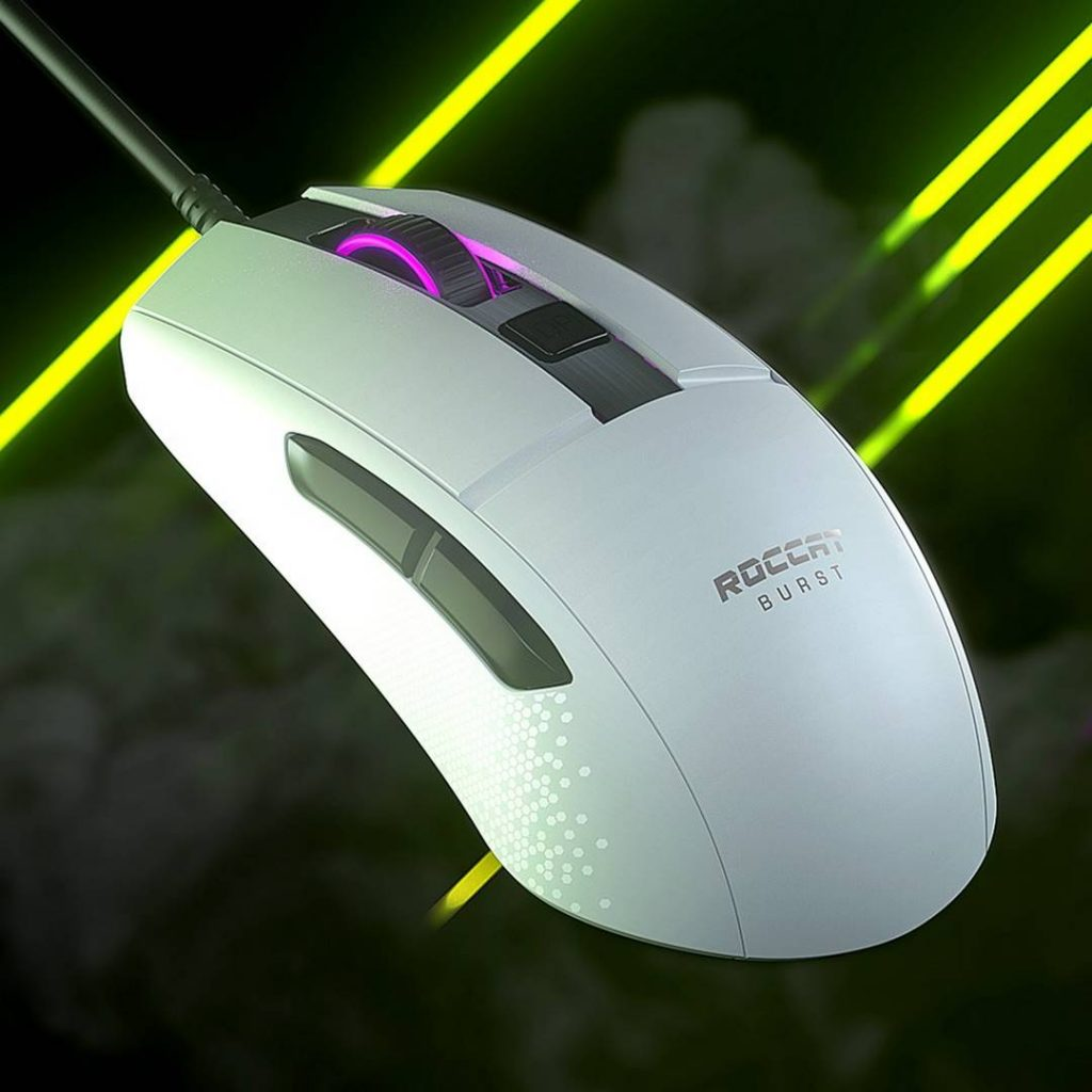 Roccat Burst Core Gaming Mouse Design