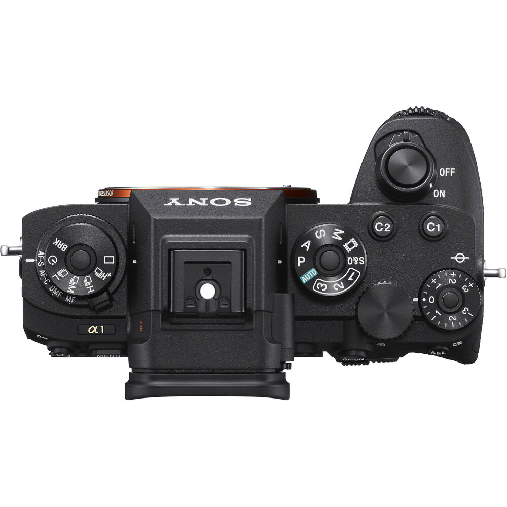 Sony A1 Camera buttons