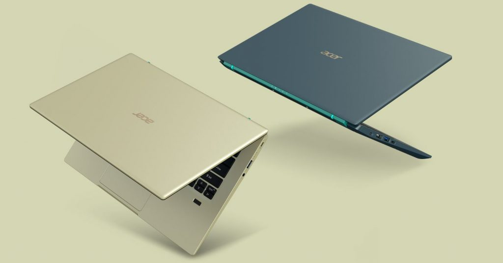 Acer Swift 3x Laptop design