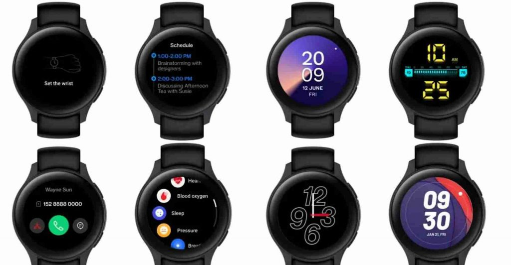 oneplus watch design and features